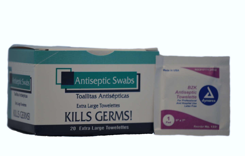 Antiseptic Towelettes