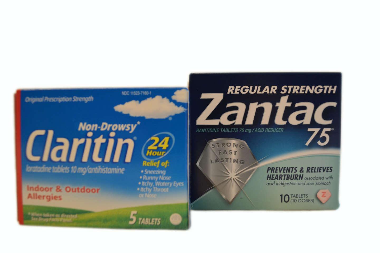 Claritin, Zantac 75